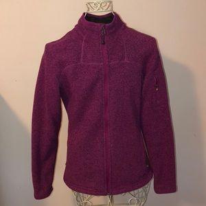 Eddie Bauer nearly new Better Sweater full zip